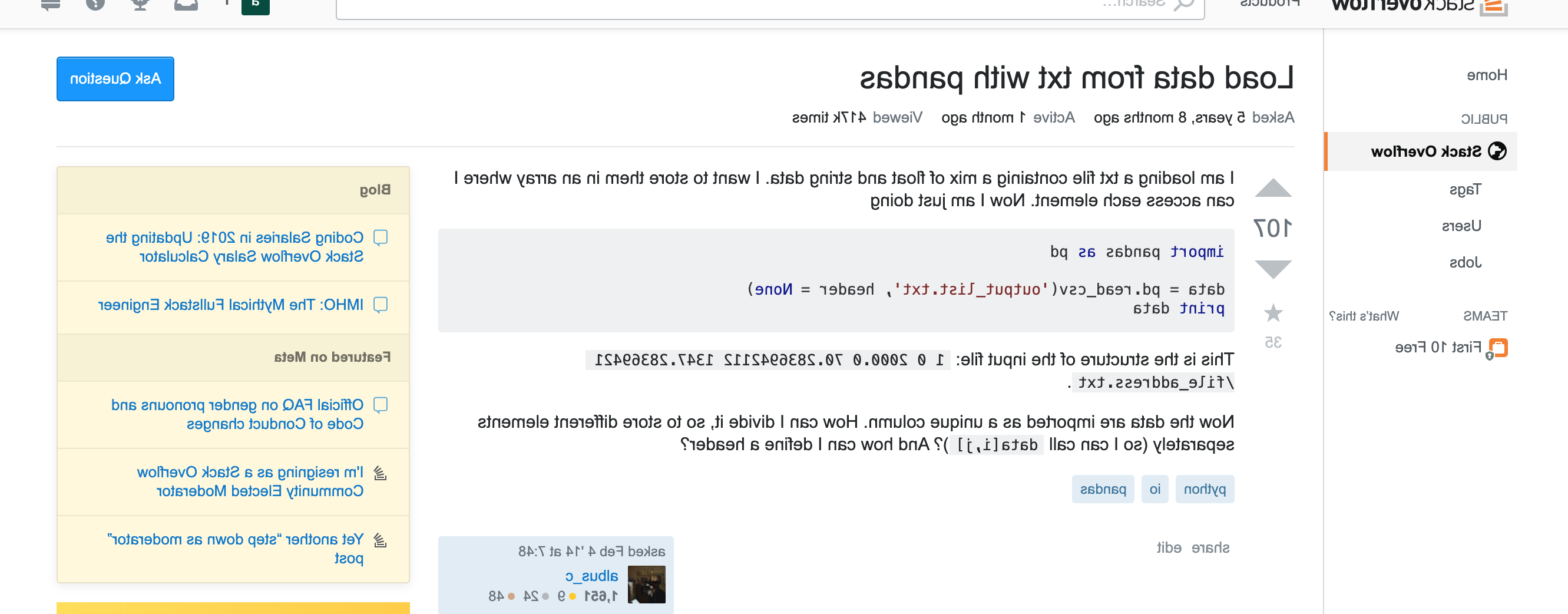 Can I advertise on stack overflow?