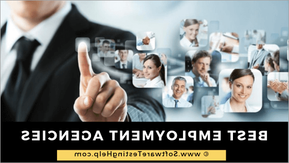 Employment and recruitment agencies