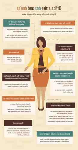 What should you not wear to work?