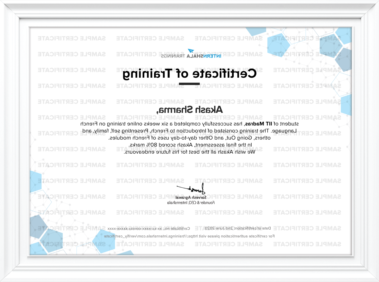 Which certificate is more valuable udemy or Internshala?