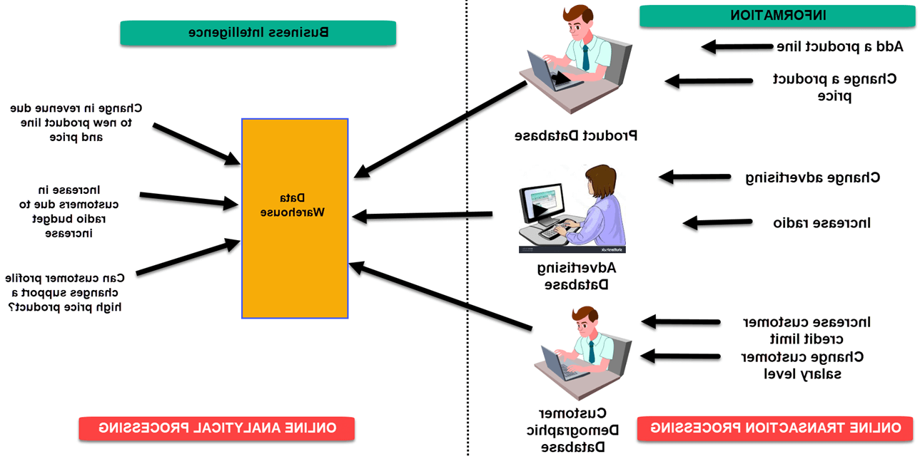 A business intelligence decision support system example