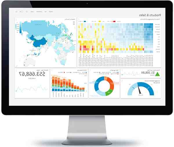 What is a dashboard business intelligence