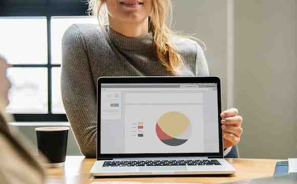 What is visual analytics in business intelligence?