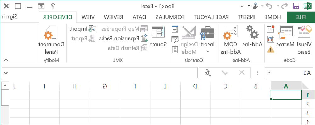 Can you use developer in Excel?