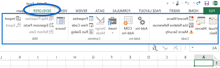 How do I enable macros in Excel for Mac?