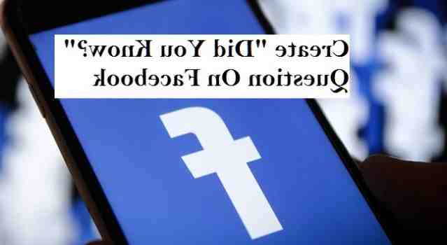 How do you answer the question why Facebook?