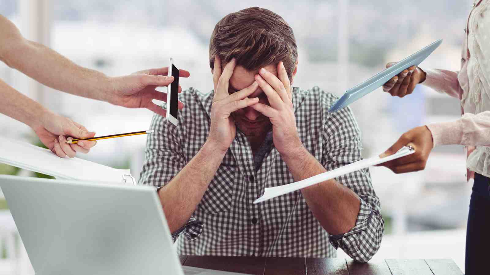 How do you handle stress in the workplace?