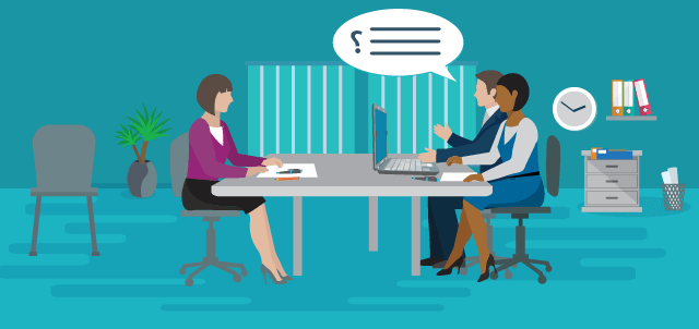 What are the 3 types of interview questions?