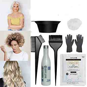 What volume developer should I use for bleaching my hair?